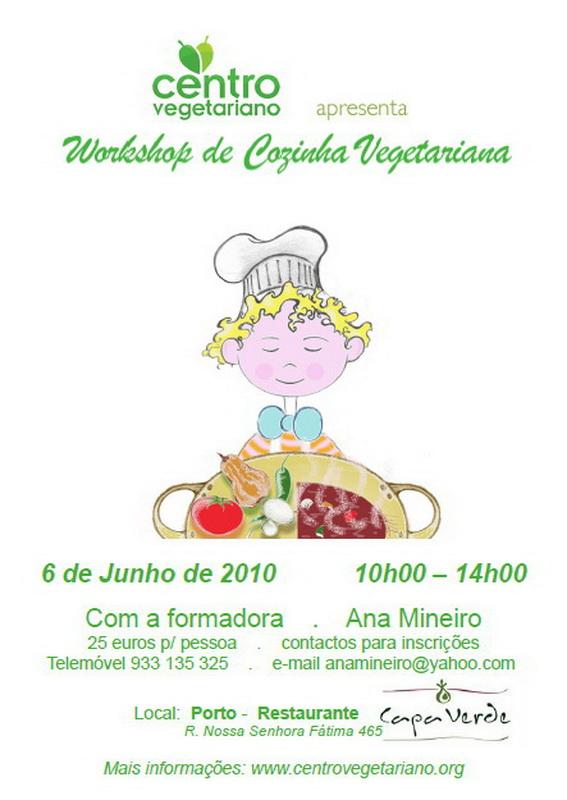 Workshop de Comida Vegetariana