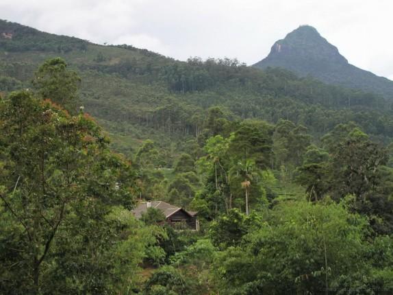 O extraordinário cabeço rochoso de Samanalakande é considerado sagrado desde tempos imemoriais.